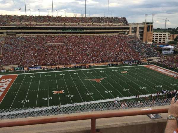 Texas Memorial Stadium, section: 107, row: 2, seat: 5