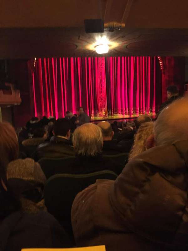 Shubert Theatre, section: Orchestra L, row: S, seat: 9
