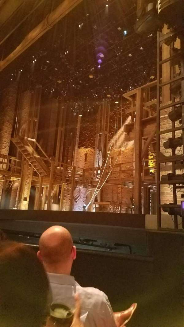 Orpheum Theatre (San Francisco), section: Orchestra R, row: D, seat: 8