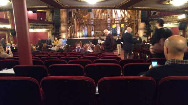 CIBC Theatre, section: Orchestra R, row: Z, seat: 118