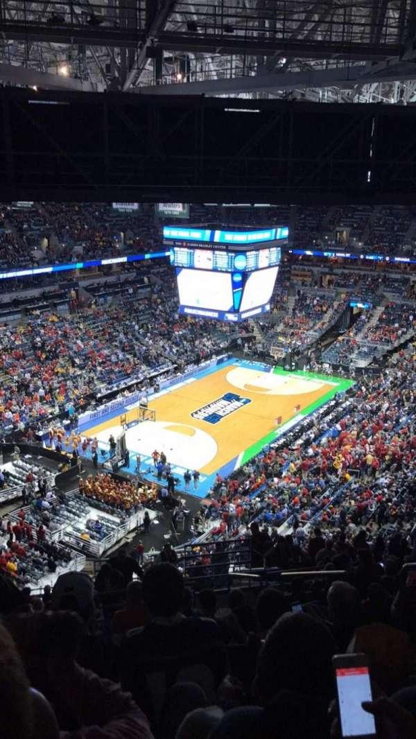 BMO Harris Bradley Center, section: 407, row: V, seat: 4