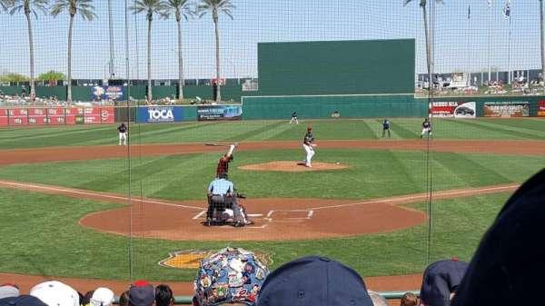 Goodyear Ballpark, section: 112, row: Q, seat: 2
