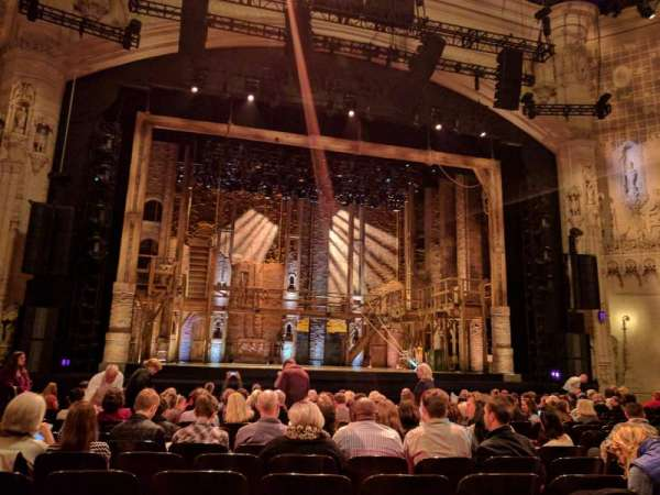 Orpheum Theatre (San Francisco), section: Orchestra LC, row: R, seat: 113