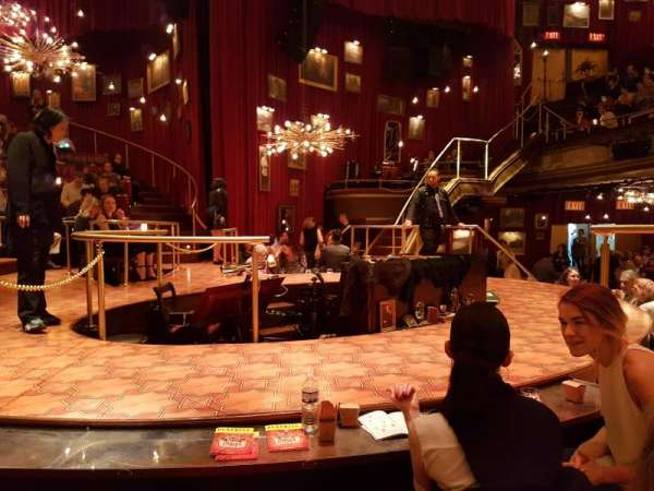 Imperial Theatre, section: Stage, row: TT, seat: 1
