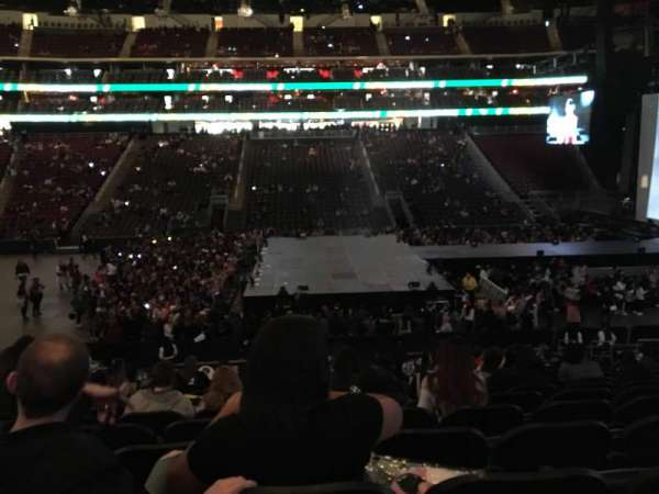 Prudential Center, section: 8, row: 18, seat: 13