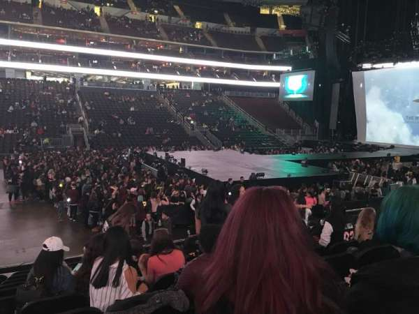 Prudential Center, section: 7, row: 11, seat: 9