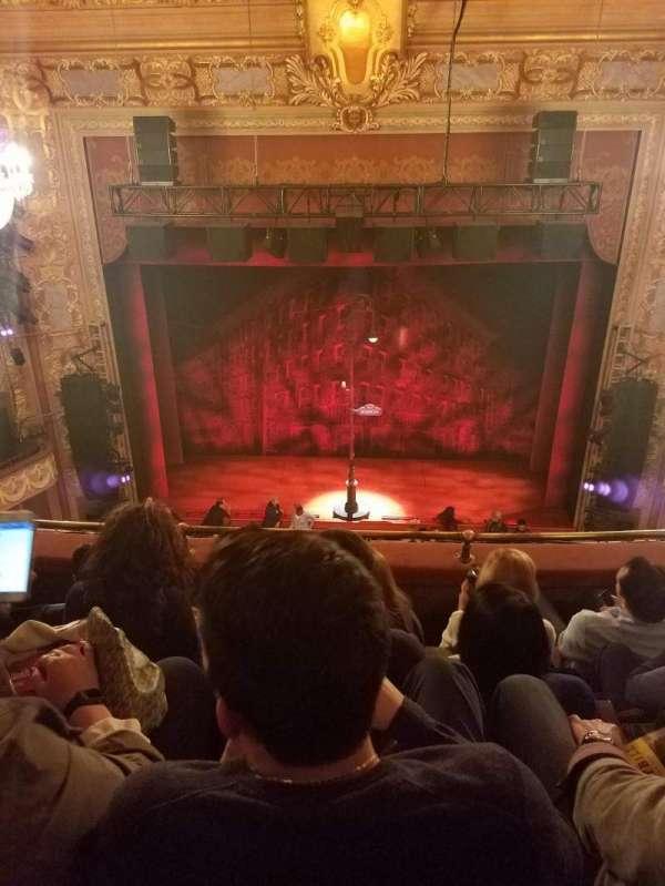 Longacre Theatre, section: Balcony C, row: D, seat: 107