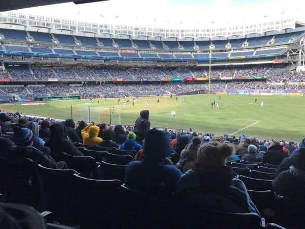 Yankee Stadium, section: 110, row: 27, seat: 1