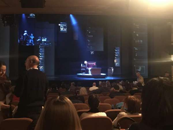 Music Box Theatre, section: Standing Room, seat: 110