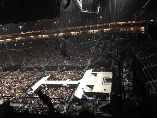 Golden 1 Center, section: 203, row: D, seat: 2
