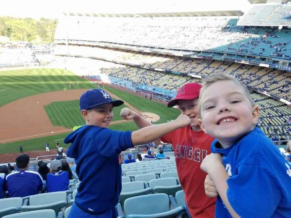 Dodger Stadium, section: 19RS, row: O, seat: 11