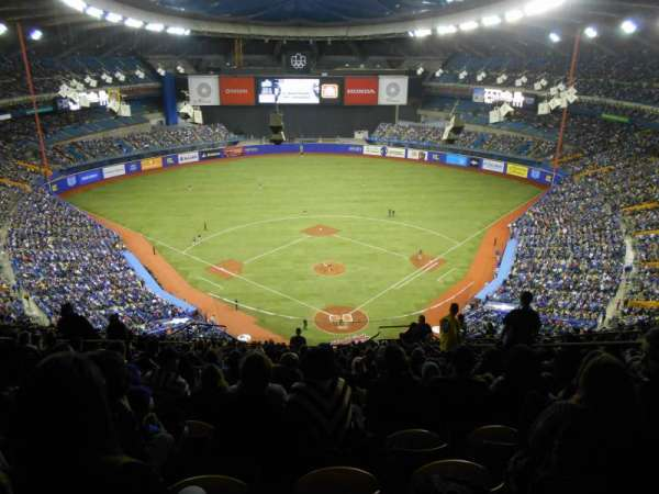 Olympic Stadium, Montreal, section: 402, row: R, seat: 6