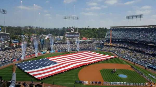 Dodger Stadium, section: 21RS, row: BB, seat: 4