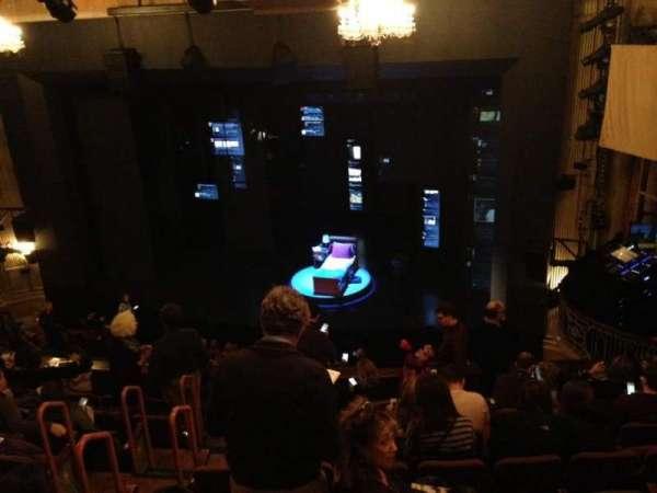 Music Box Theatre, section: Mezzanine R, row: J, seat: 8