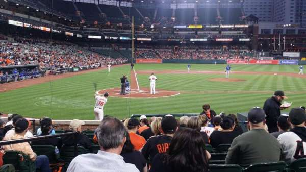 Oriole Park at Camden Yards, section: 28, row: 9, seat: 3
