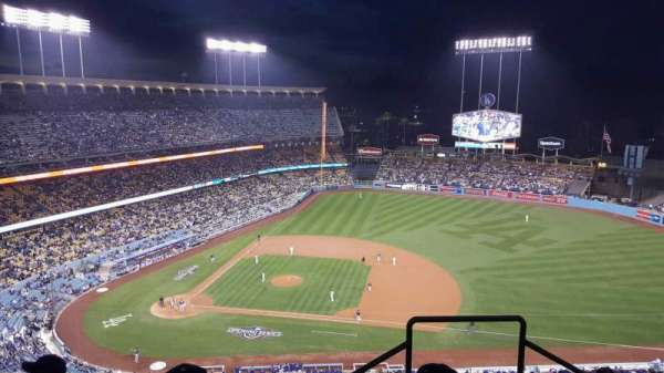 Dodger Stadium, section: 14RS, row: DD, seat: 21
