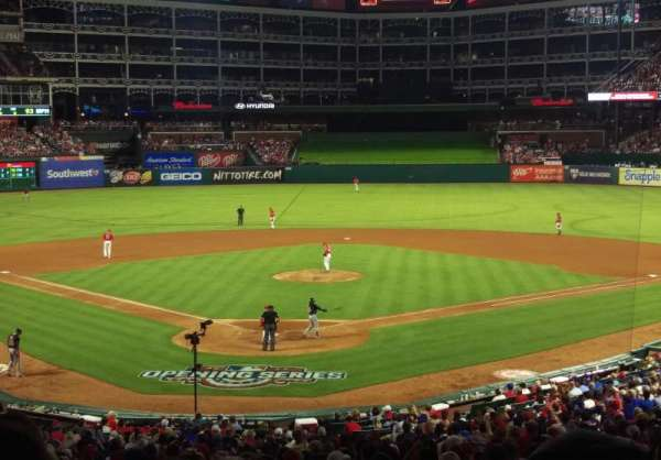 Globe Life Park in Arlington, section: 127, row: 36, seat: 2