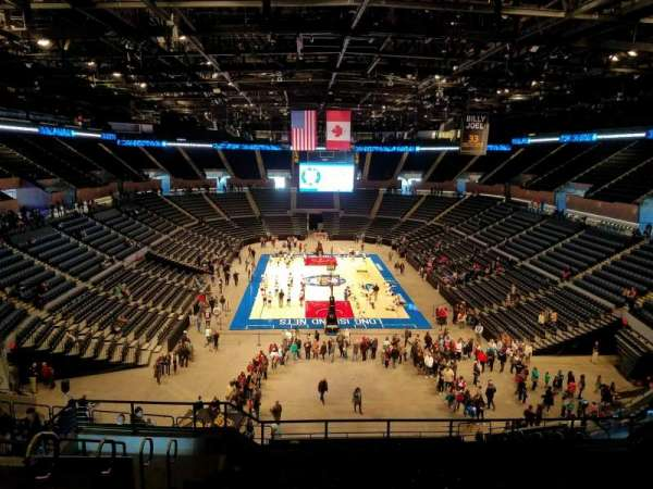 Nassau Veterans Memorial Coliseum, section: 233, row: 10, seat: 14