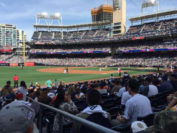 PETCO Park, section: FB120, row: 18, seat: 1