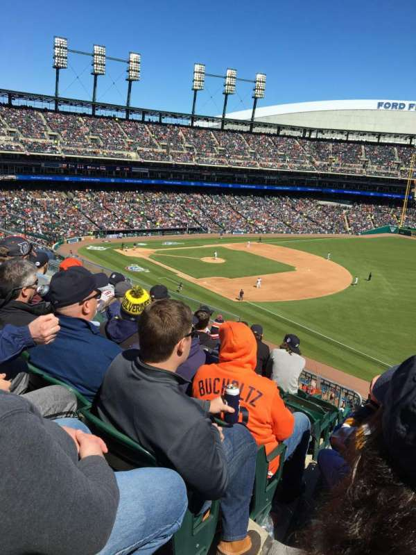 Comerica Park, section: 214, row: 8, seat: 7