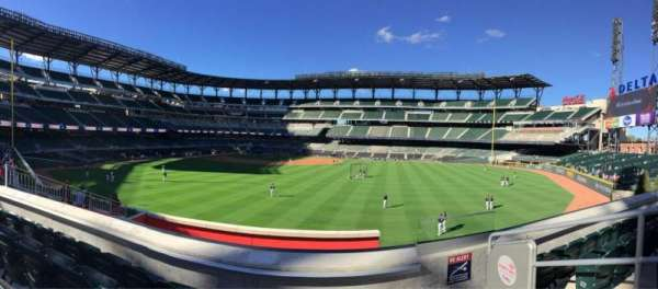 SunTrust Park, section: 154, row: 10, seat: 1