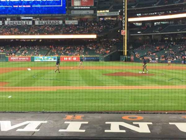 Minute Maid Park, section: 113, row: 9, seat: 14