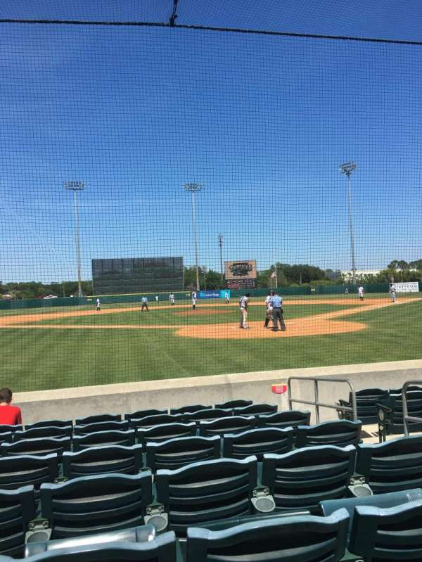 Osceola County Stadium, section: 111, row: 8, seat: 5