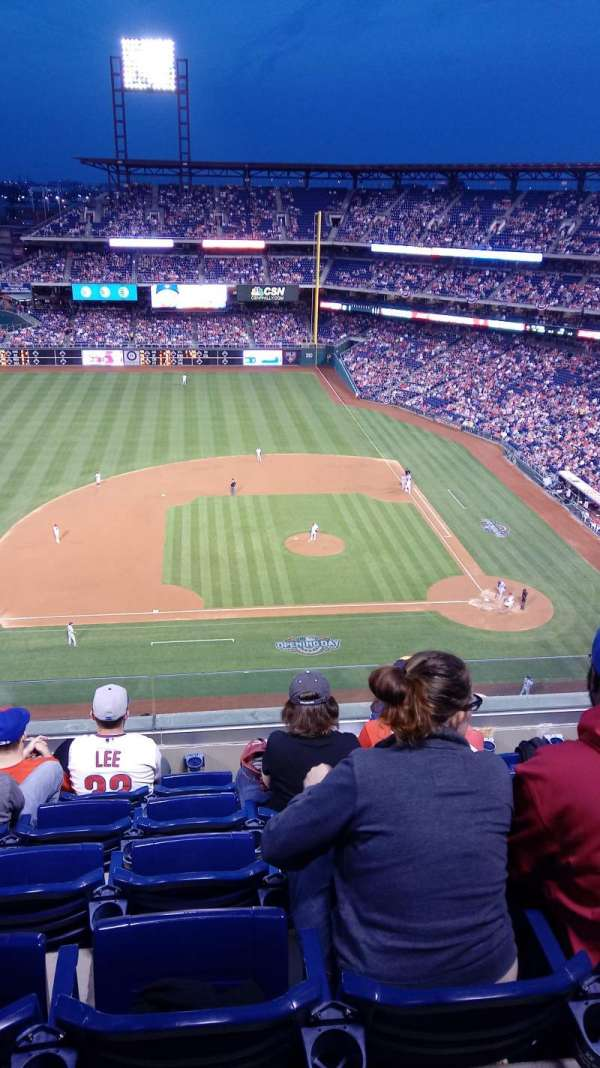 Citizens Bank Park, section: 426, row: 6, seat: 13