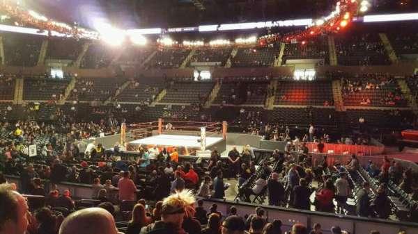 Nassau Veterans Memorial Coliseum, section: 102, row: 1, seat: 7