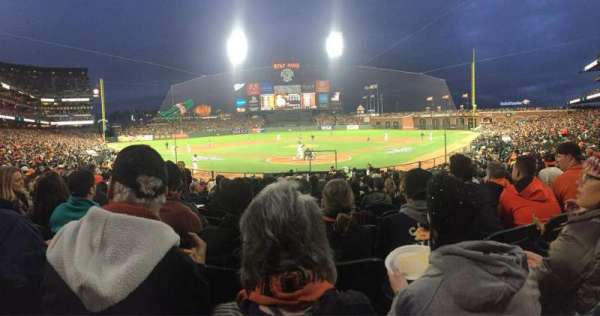 Oracle Park, section: 115, row: N, seat: 11