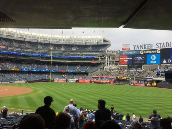 Yankee Stadium, section: 110, row: 29, seat: 14