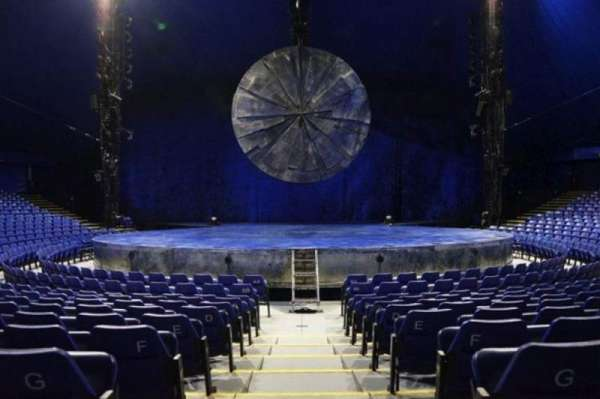 Cirque Du Soleil - Luzia, section: 200, row: H, seat: 12