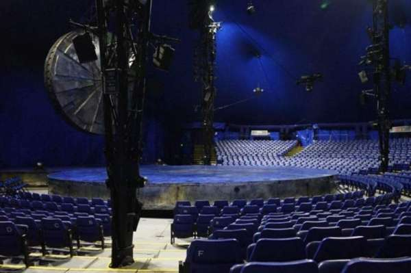 Cirque Du Soleil - Luzia, section: 201, row: H, seat: 15