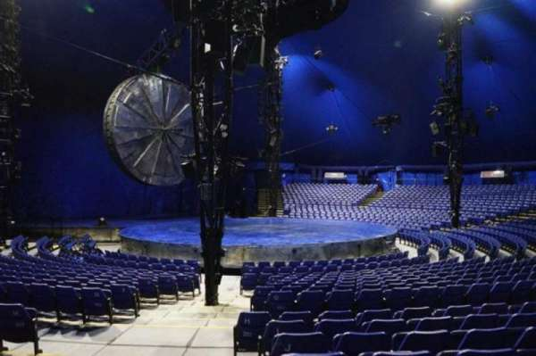 Cirque Du Soleil - Luzia, section: 201, row: N, seat: 21