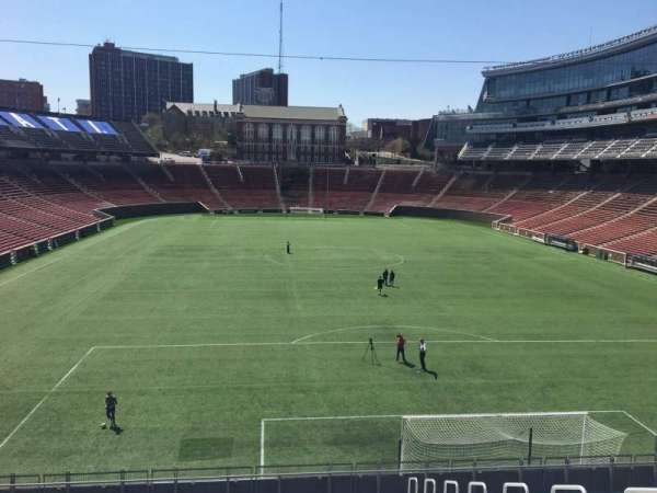 Nippert Stadium, section: 134, row: 20, seat: 9