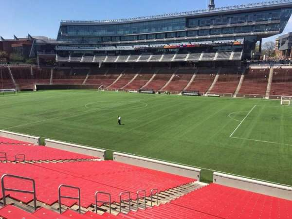 Nippert Stadium, section: 102, row: 32, seat: 9