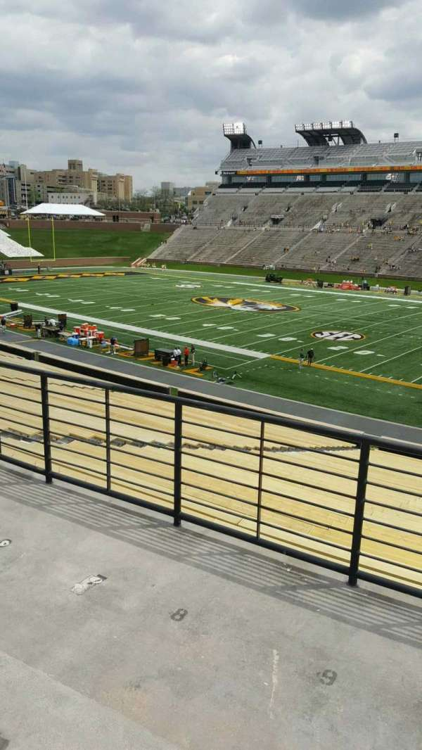 Faurot Field, section: 124, row: 40, seat: 10
