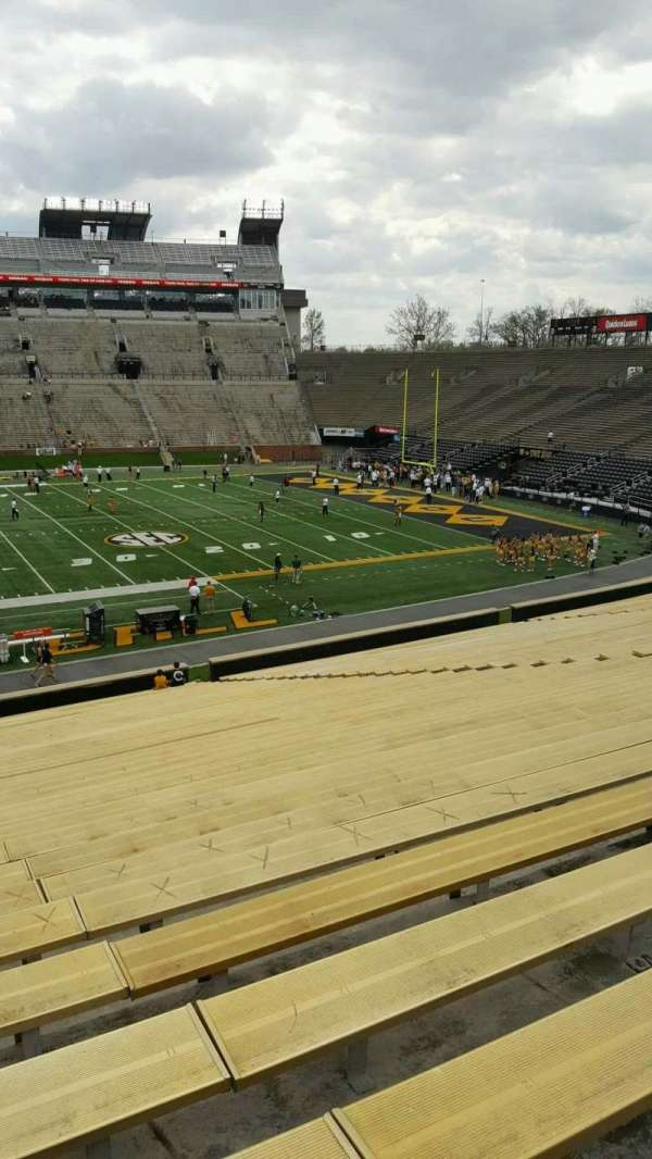 Faurot Field, section: 121, row: 39, seat: 21