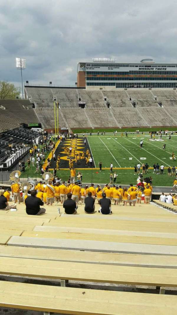 Faurot Field , section: DD, row: 34, seat: 7