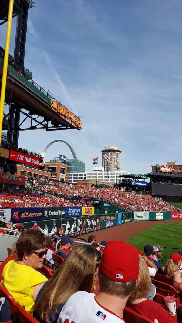 Busch Stadium, section: 167, row: 9, seat: 6
