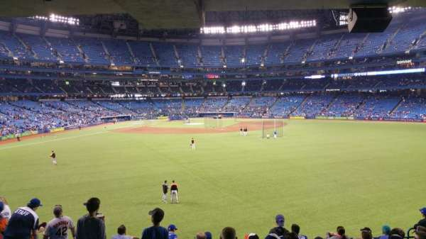 Rogers Centre, section: 103L, row: 10, seat: 108