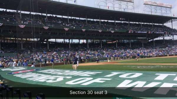 Wrigley Field, section: 24, row: 6, seat: 3