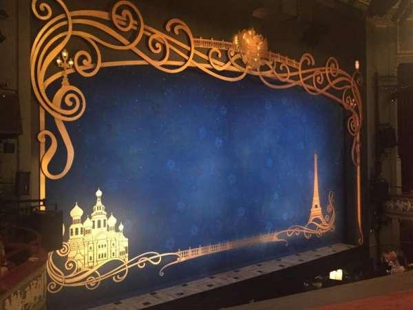 Broadhurst Theatre, section: Mezzanine L, row: A, seat: 19