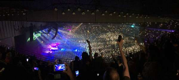 Royal Farms Arena, section: 307, row: K, seat: 11