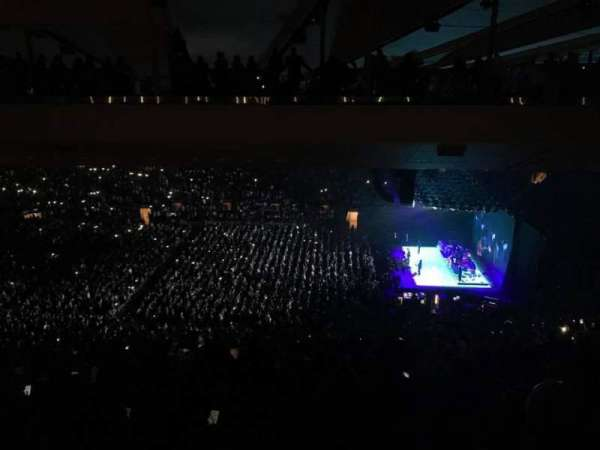 Madison Square Garden, section: 212, row: 20, seat: 16