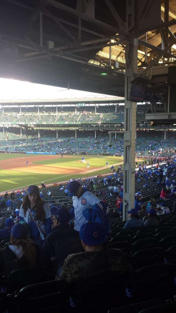 Wrigley Field, section: 205, row: 21, seat: 5