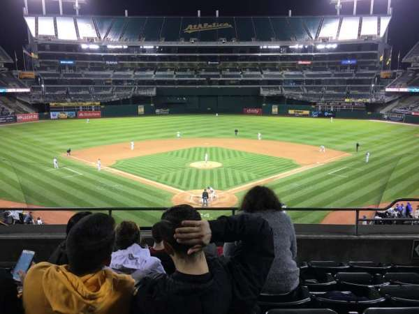Oakland Coliseum, section: 217, row: 6, seat: 6