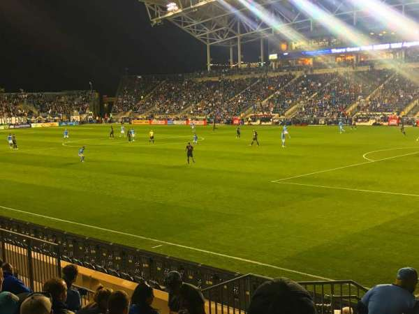 Talen Energy Stadium, section: 121, row: L, seat: 19
