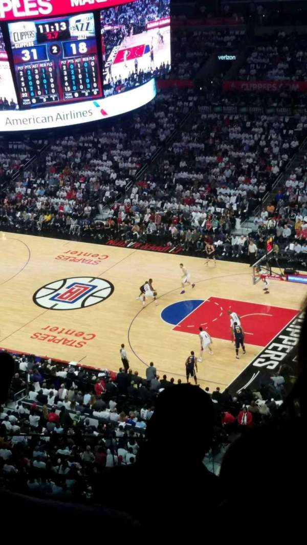 Staples Center, section: 332, row: 3, seat: 7
