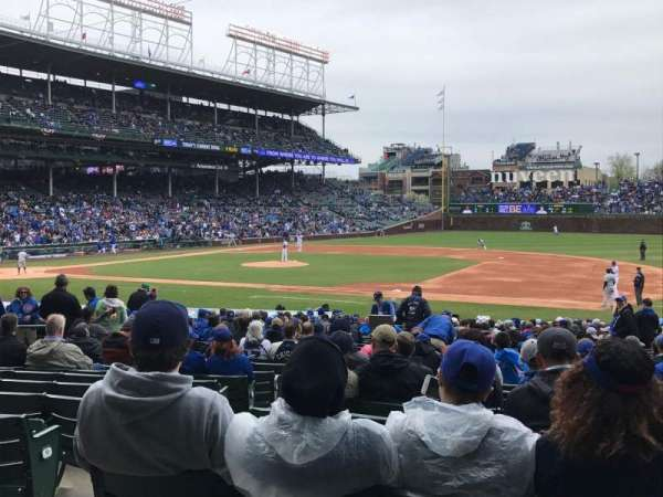 Wrigley Field, section: 126, row: 13, seat: 1-4